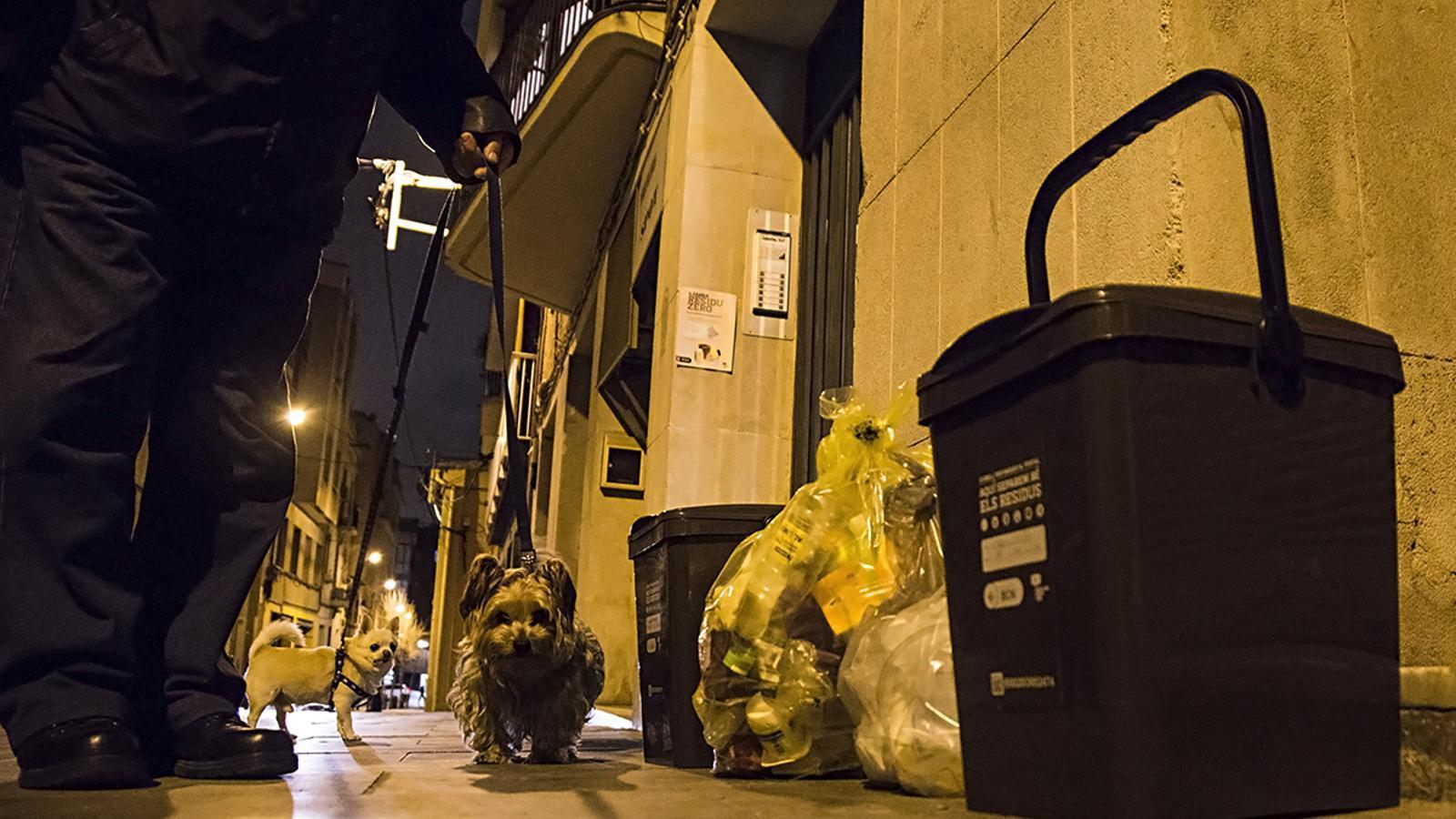 La recollida porta a porta a Sarrià multiplica gairebé per deu el reciclatge de brossa orgànica