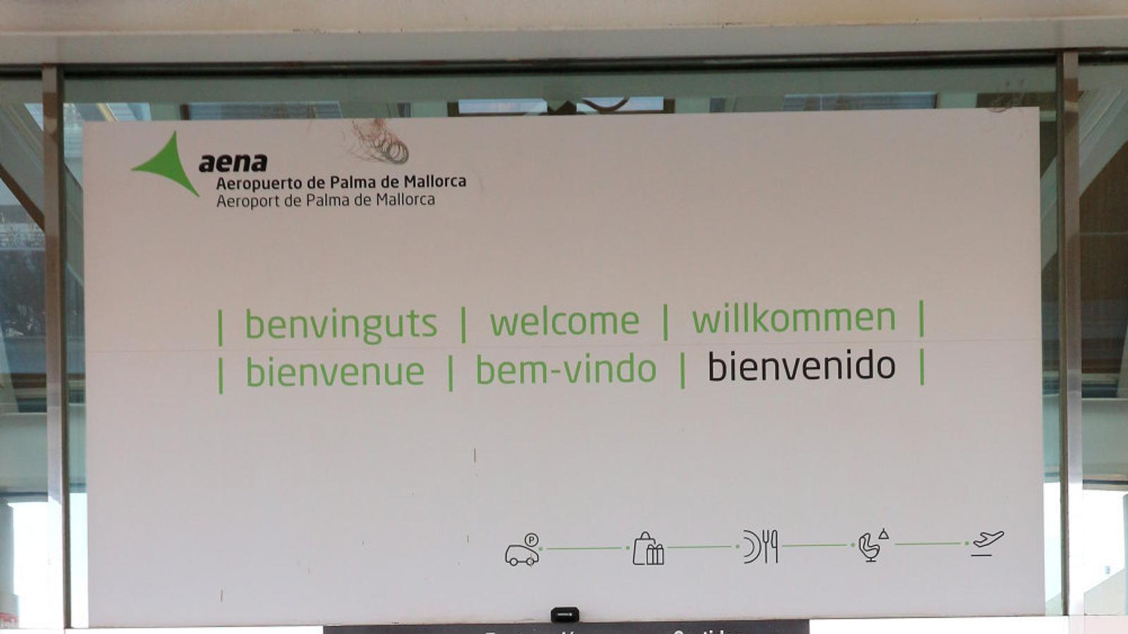 Mallorca és un no-lloc, segons l'aeroport de   Son Sant Joan