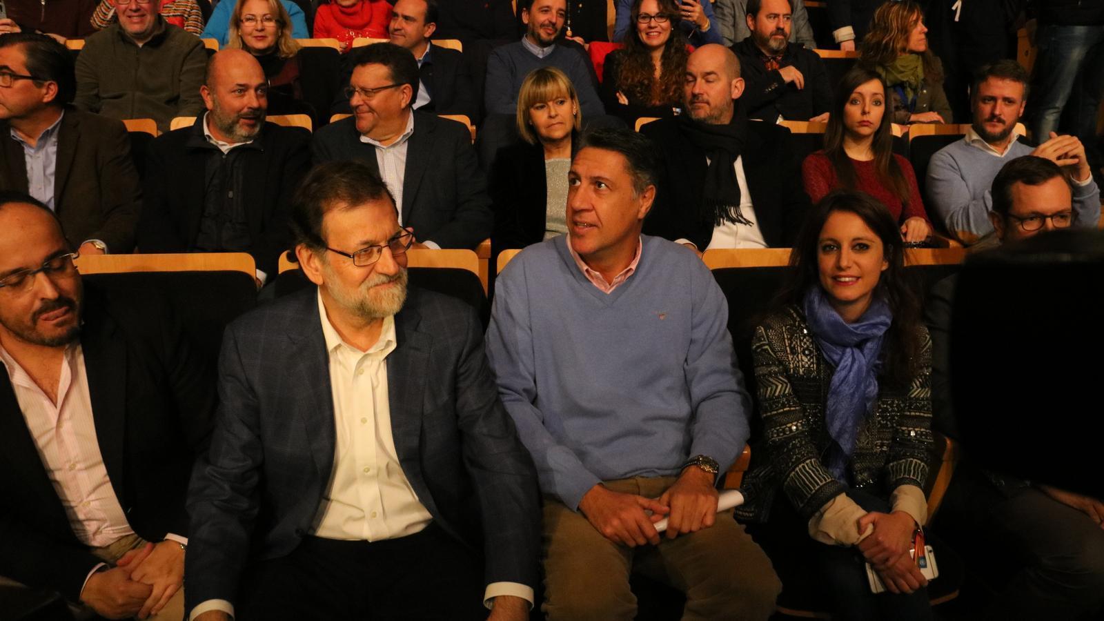 Mariano Rajoy i Xavier García Albiol, a Salou