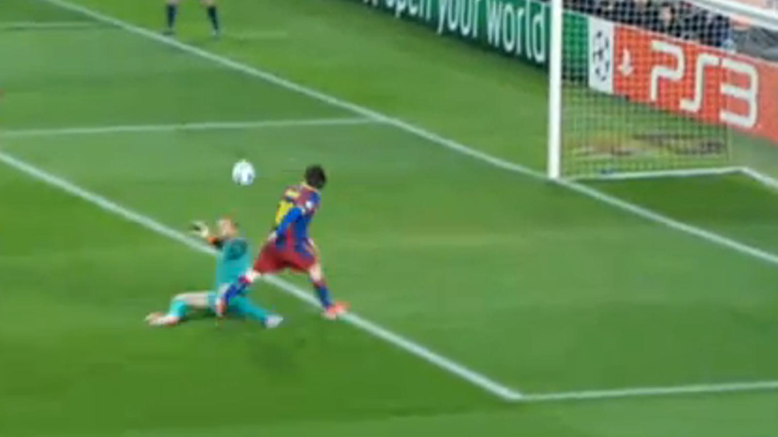 El gol de Messi a l'Arsenal, candidat a millor gol de 2011.