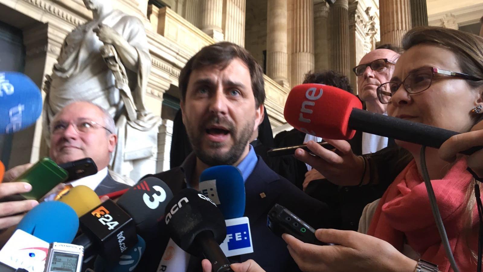 La justícia belga rebutja l'extradició  de Comín, Serret i Puig
