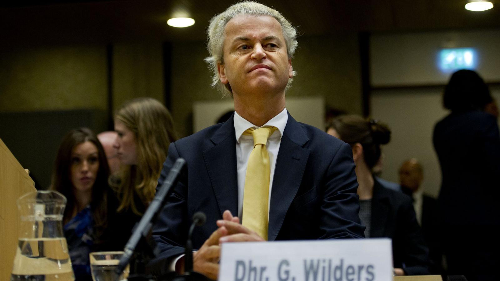 Geert Wilders / ROBIN UTRECHT / AFP