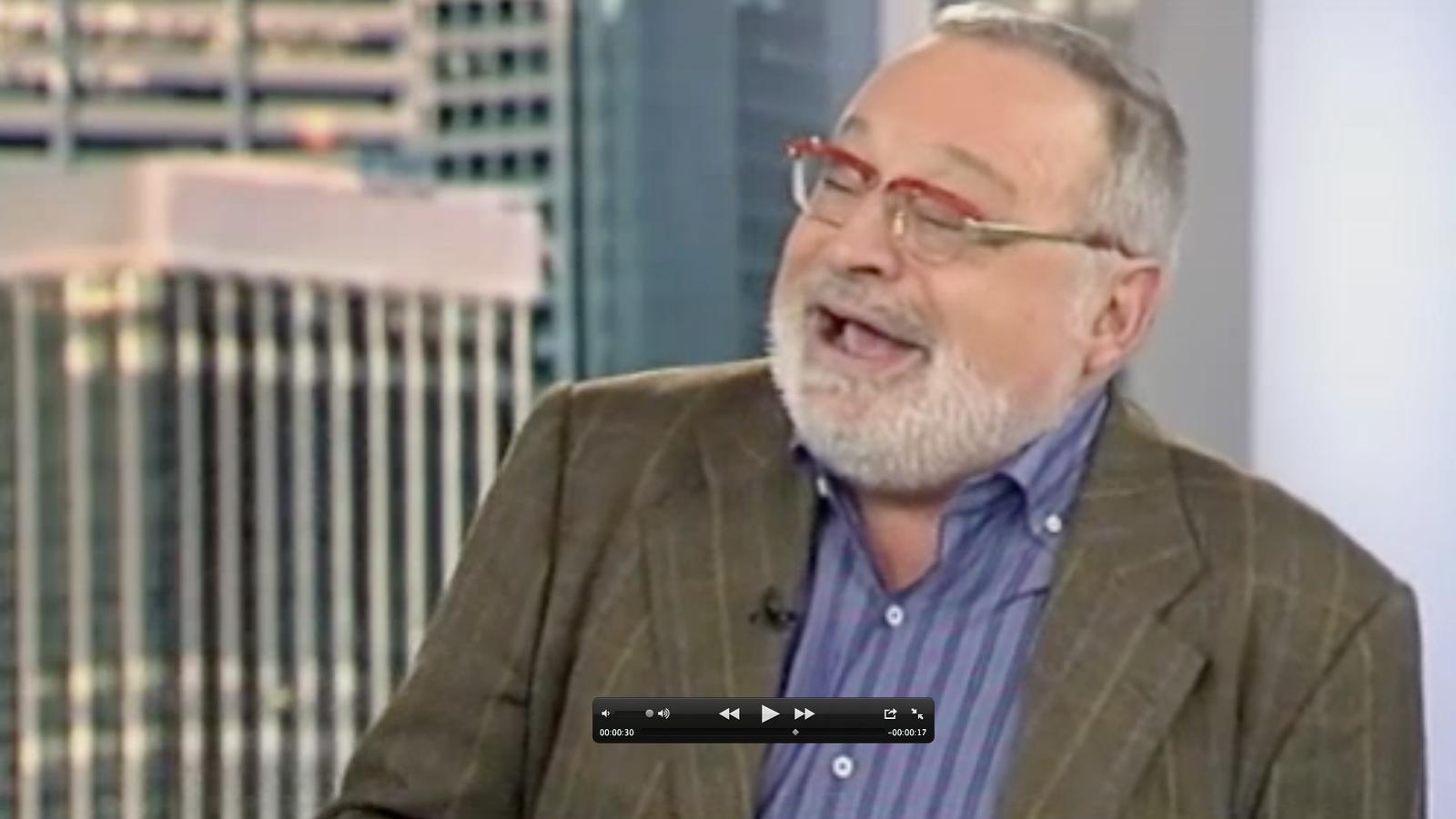 Fernando Savater diu en una entrevista que gràcies al terrorisme s'ha mantingut actiu i s'ha divertit molt
