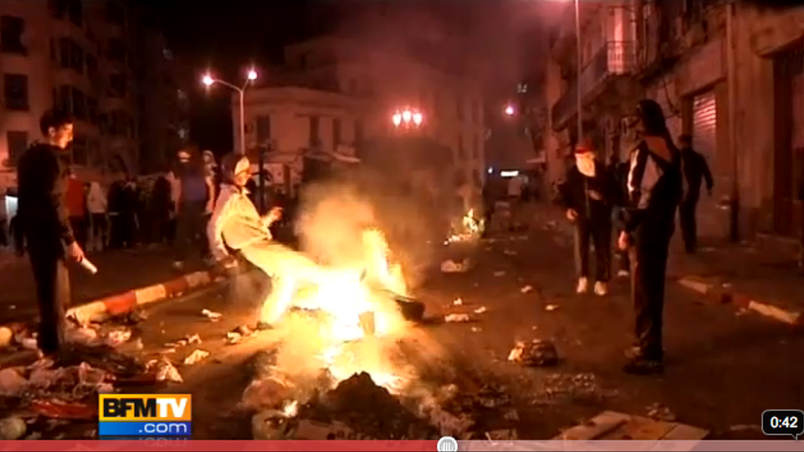 Video de les manifestacions a Argèlia