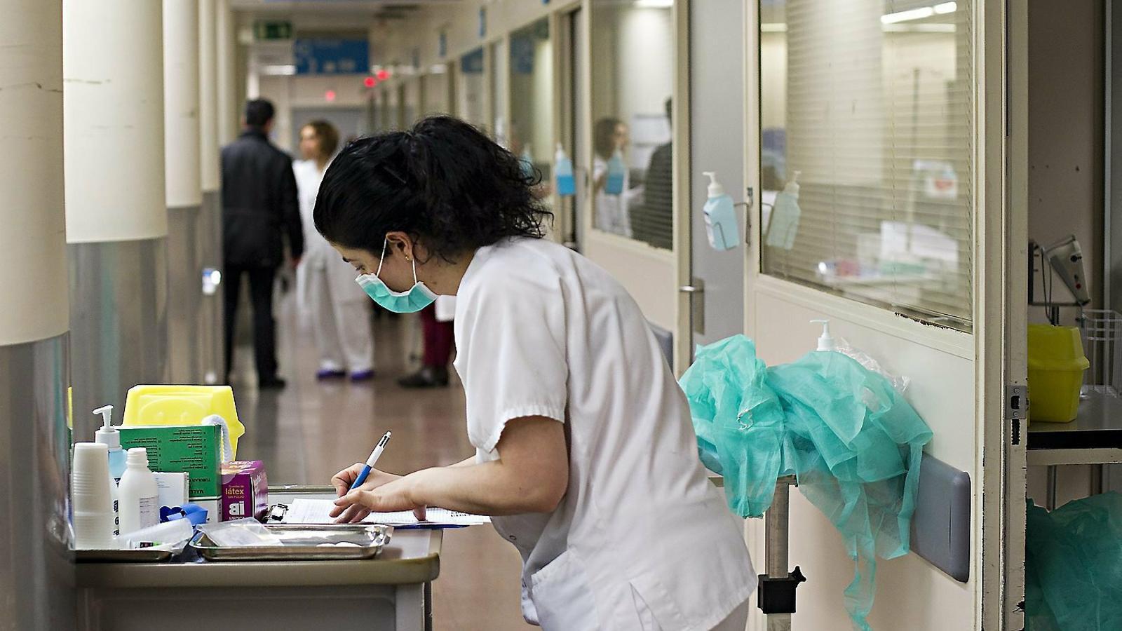L'explotació laboral a la infermeria, una realitat normalitzada