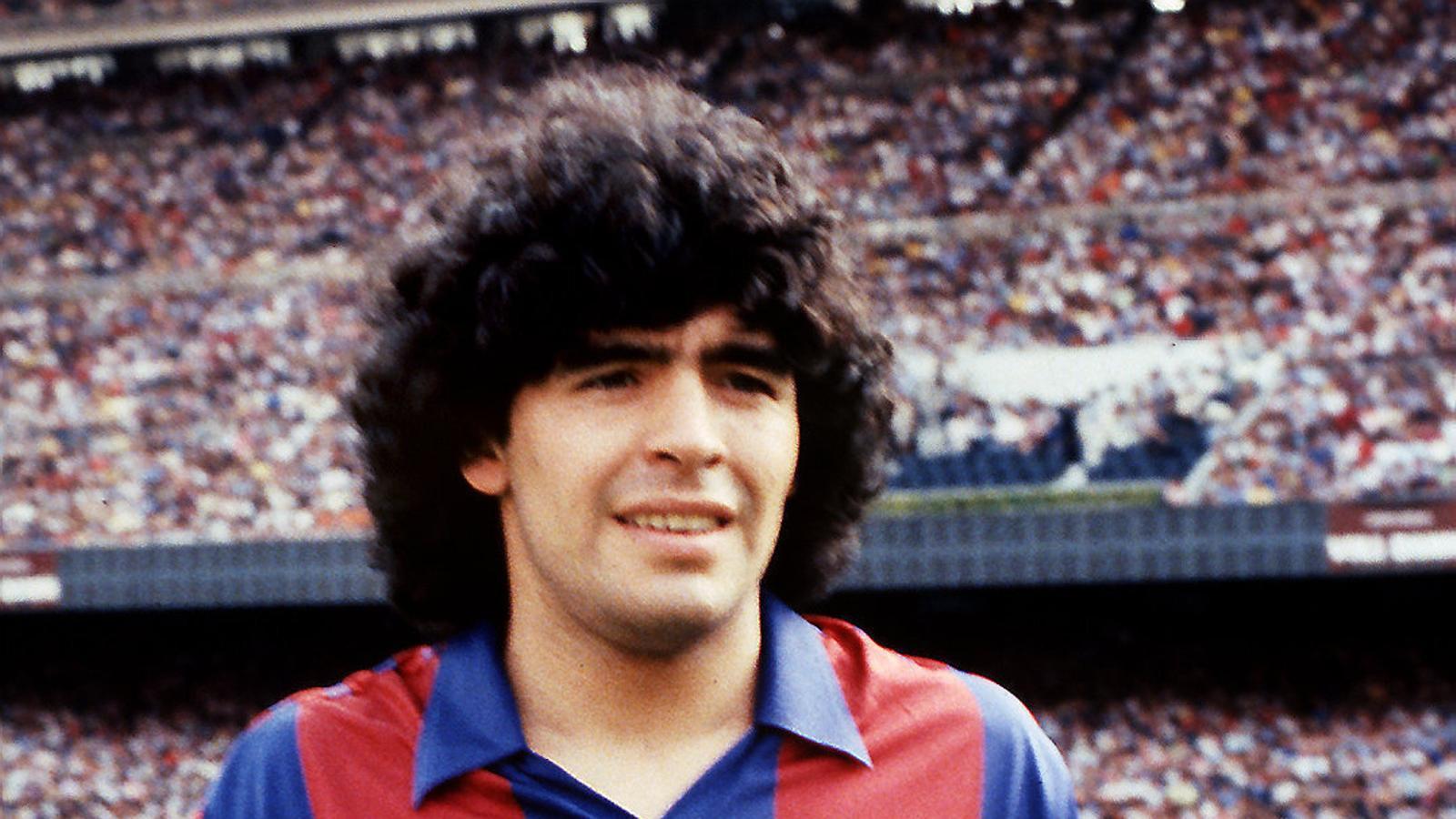 Fugint del Barça  de Maradona