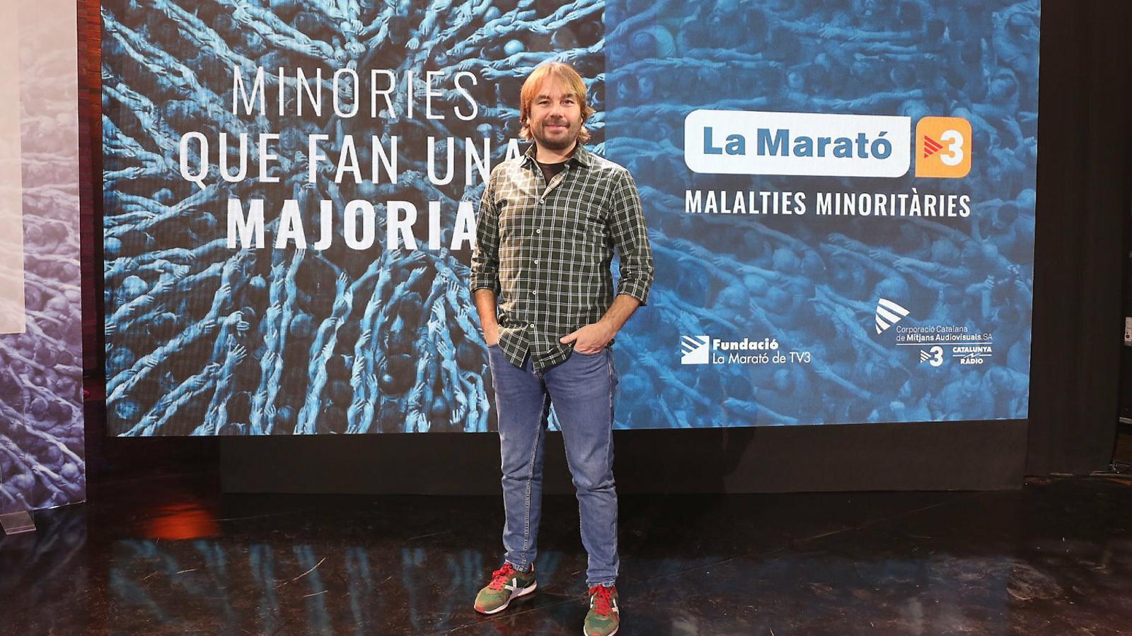 """Quim Masferrer: """"L'objectiu de 'La Marató' és reafirmar-nos com a país i com a solidaris"""""""