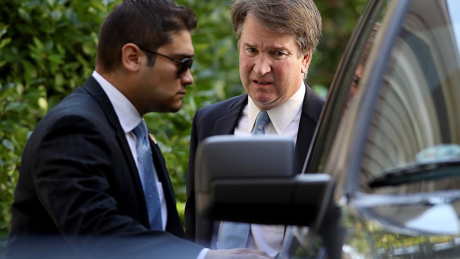 El jutge Brett Kavanaugh, candidat de Trump al Tribunal Suprem.