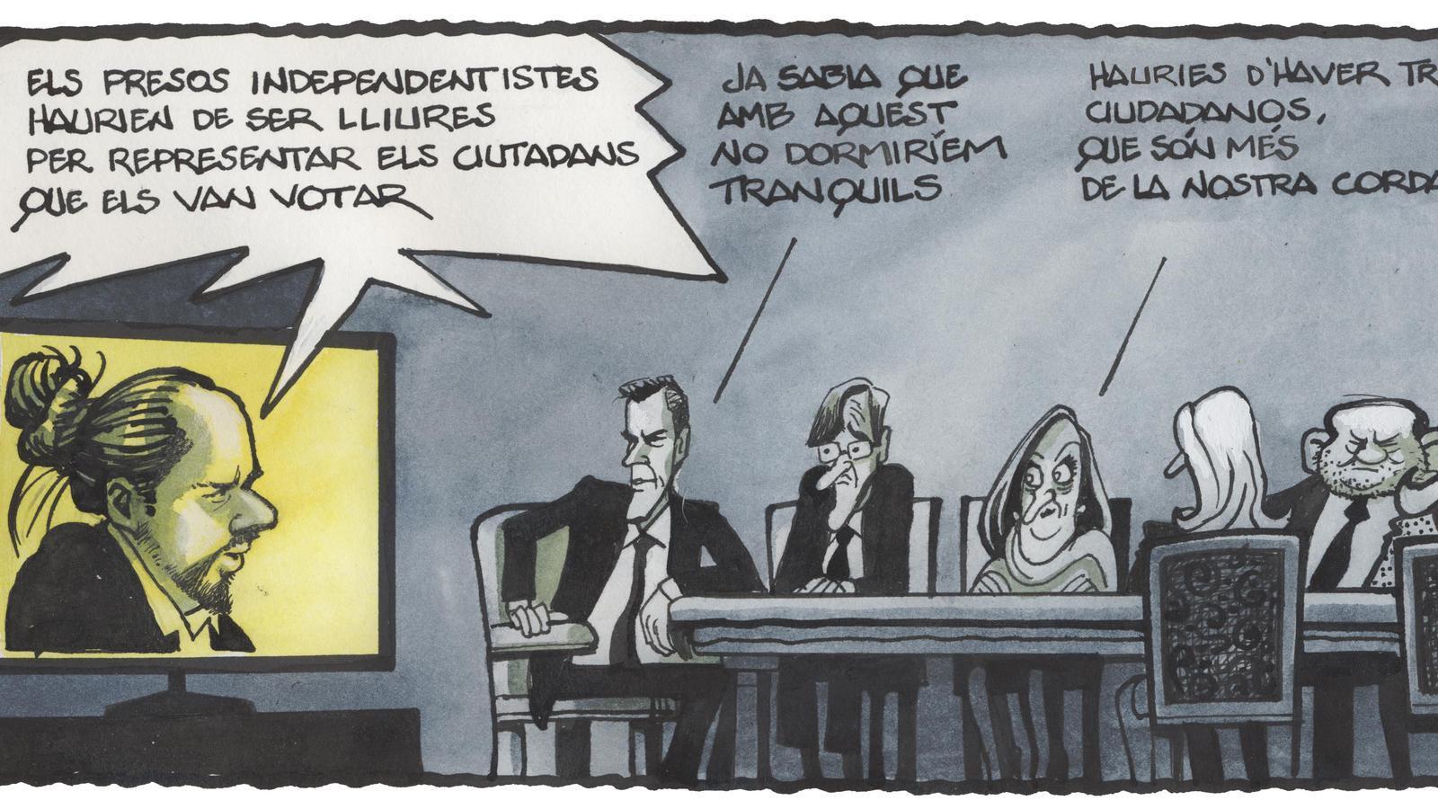 'A la contra', per Ferreres 19/01/2021