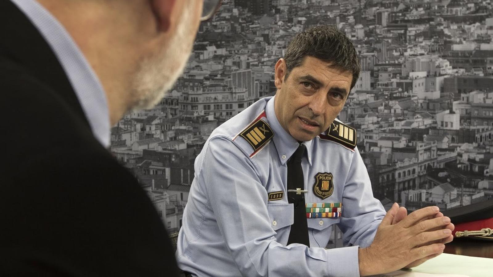 El cap dels Mossos explica com va començar la investigació sobre el grup jihadista