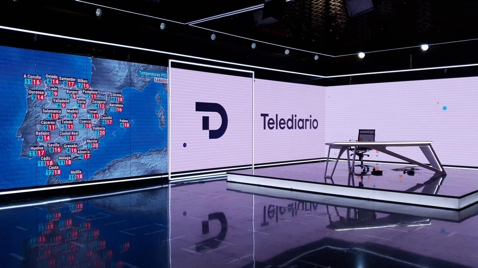 RTVE ha preparat una renovació de la imatge dels informatius