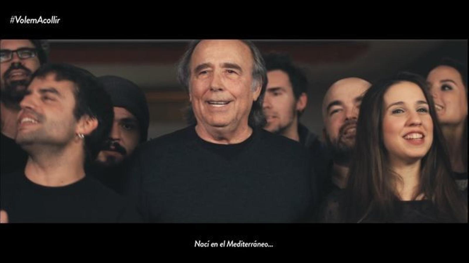 La versió més solidària del 'Mediterráneo' de Serrat