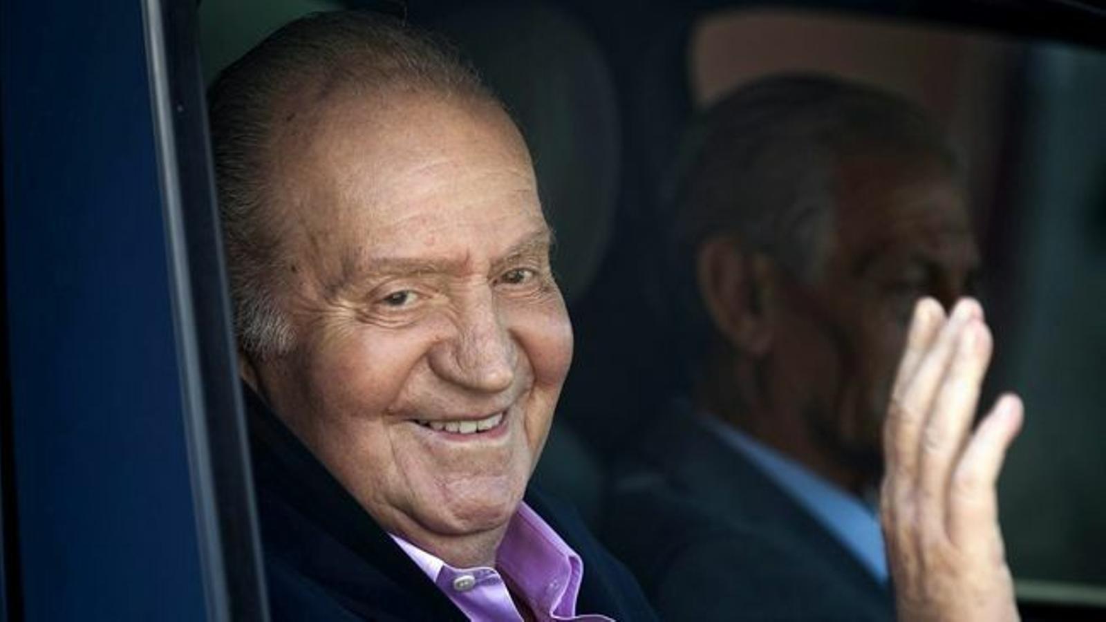El rei Joan Carles, en una imatge d'arxiu / EFE