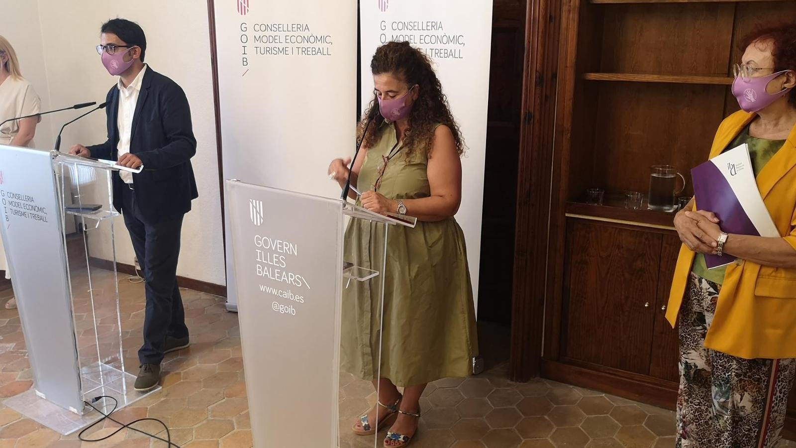 Els consellers Iago Negueruela i Pilar Costa han presentat la convocatòria.