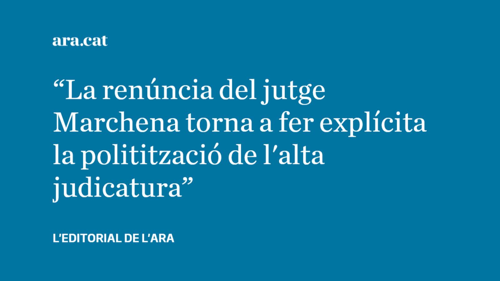 La justícia espanyola queda encara més en evidència