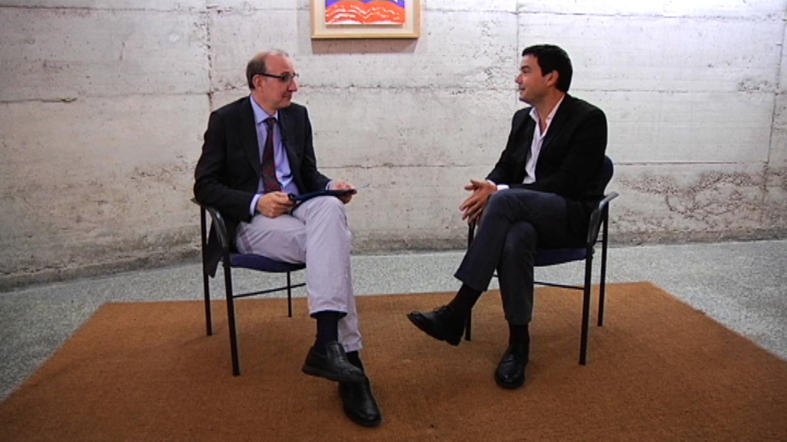 Thomas Piketty: Crec en la competició però penso que les forces del capitalisme han d'estar sempre al servei de l'interès general