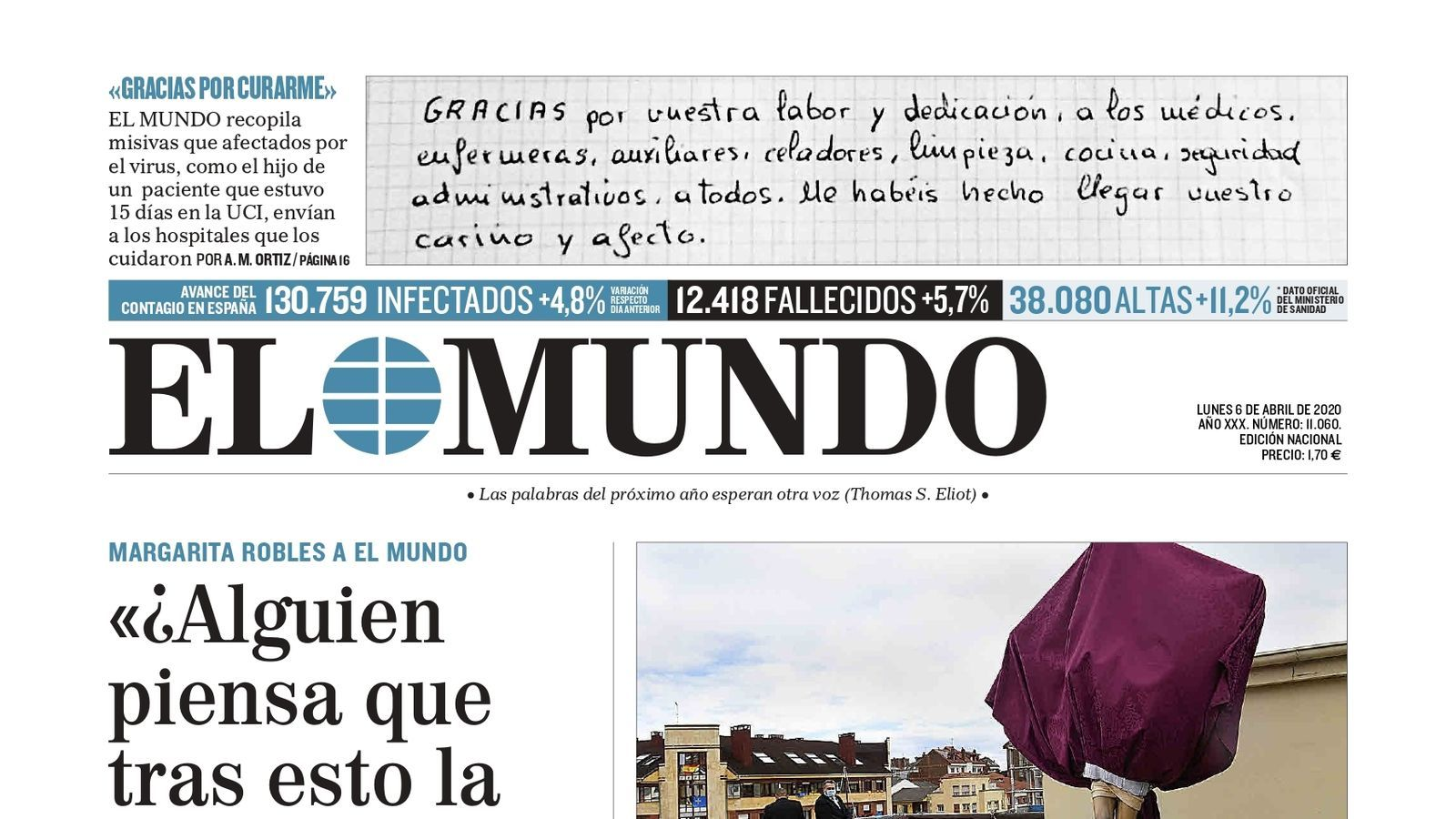 6/04/2020 El Mundo
