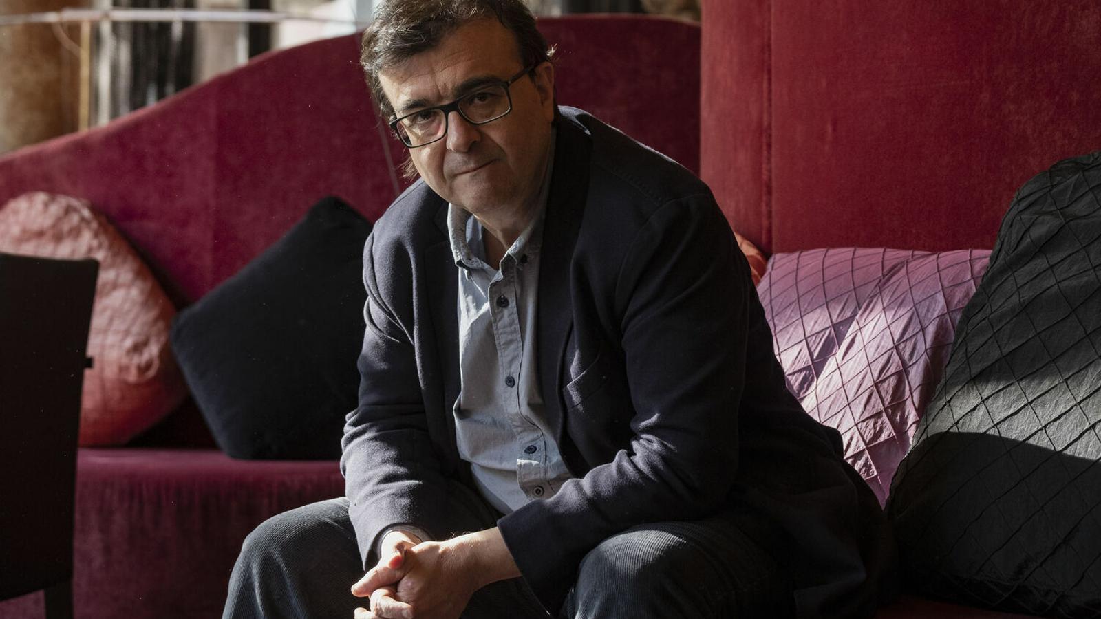 L'escriptor Javier Cercas