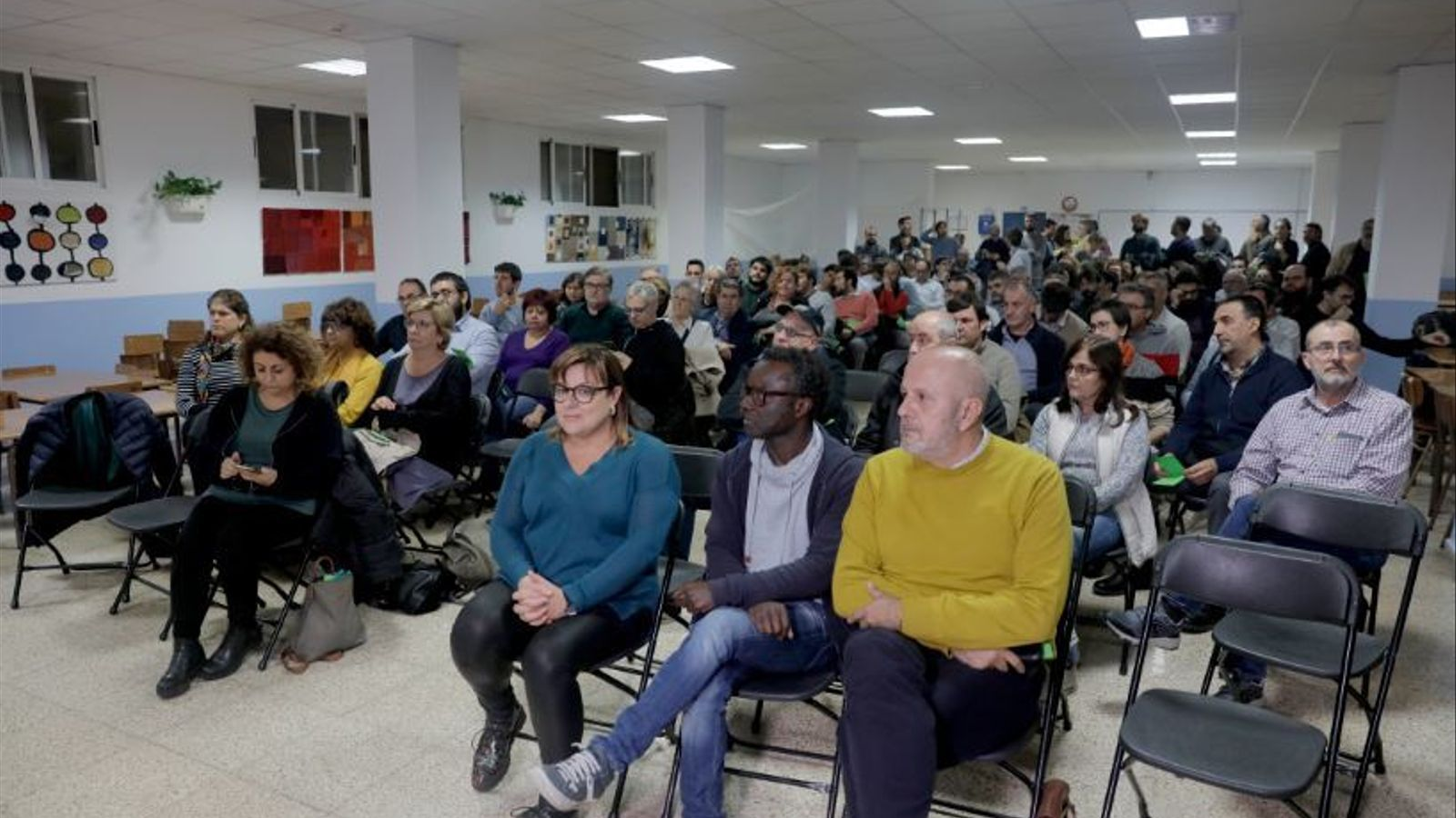 Assemblea de MÉS per Mallorca. / I. VELÁZQUEZ
