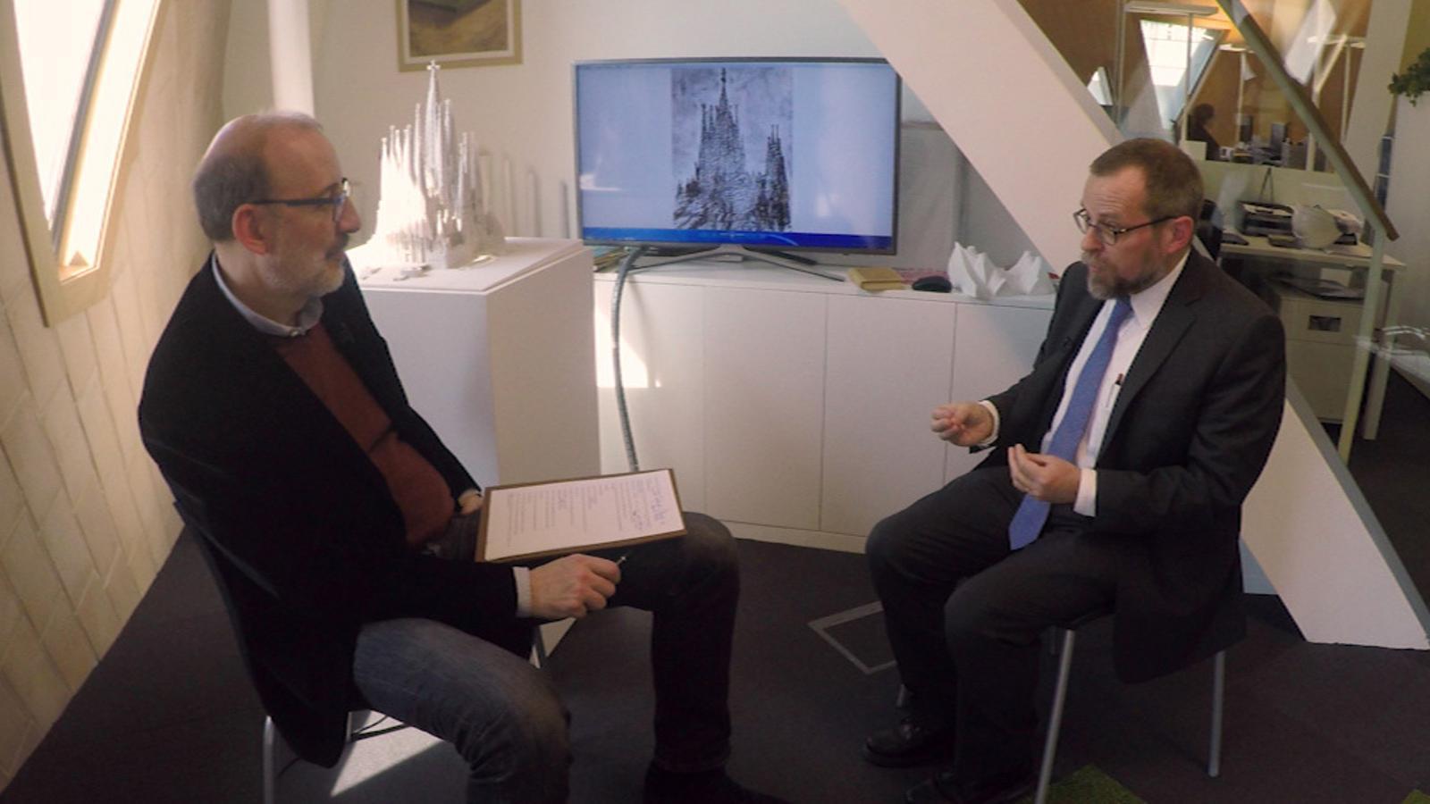 Entrevista d'Antoni Bassas a Jordi Faulí
