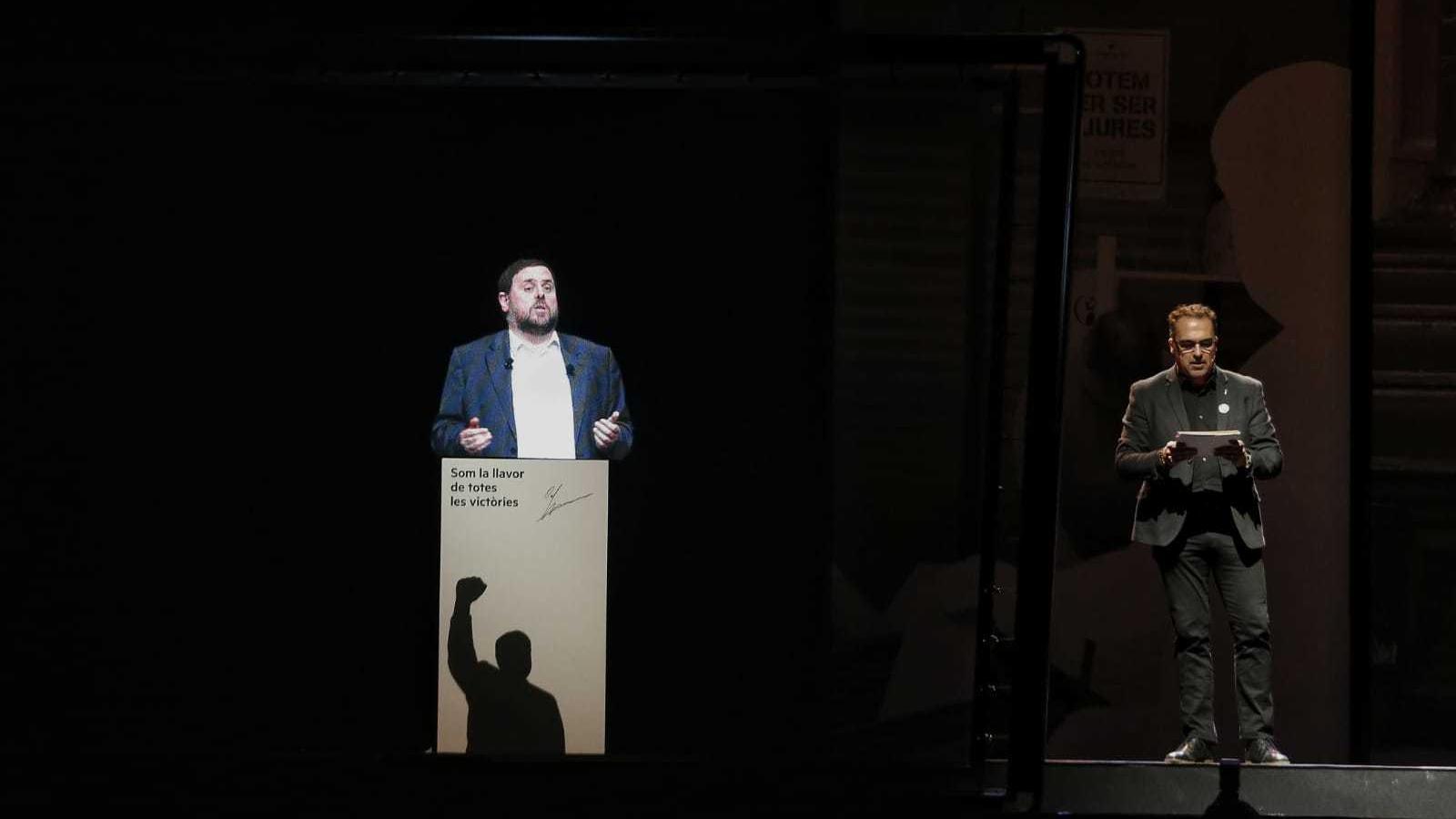 Junqueras crida a fer d'ERC la força central per assolir un referèndum