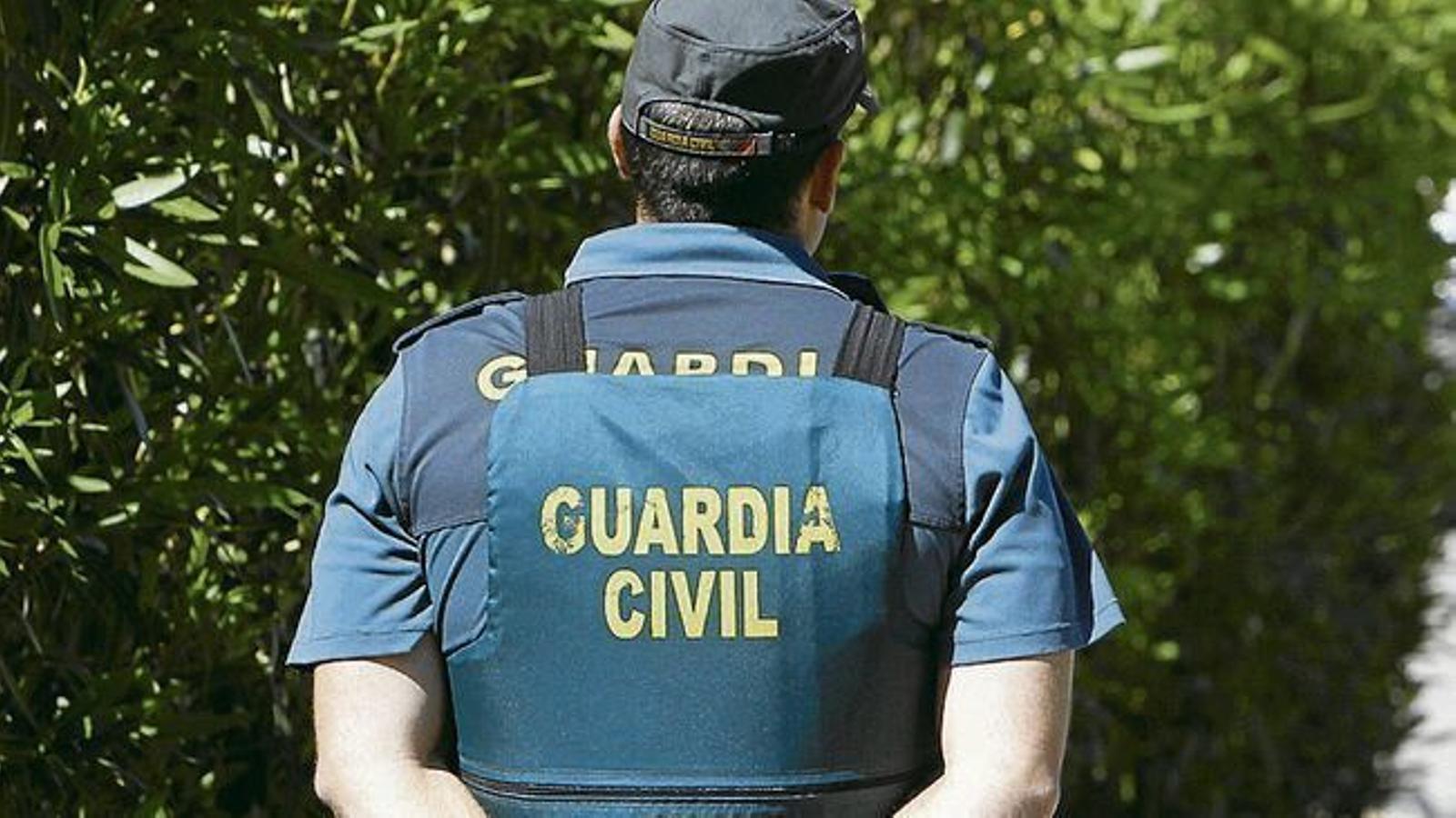Un agent de la Guàrdia Civil, en una foto d'arxiu