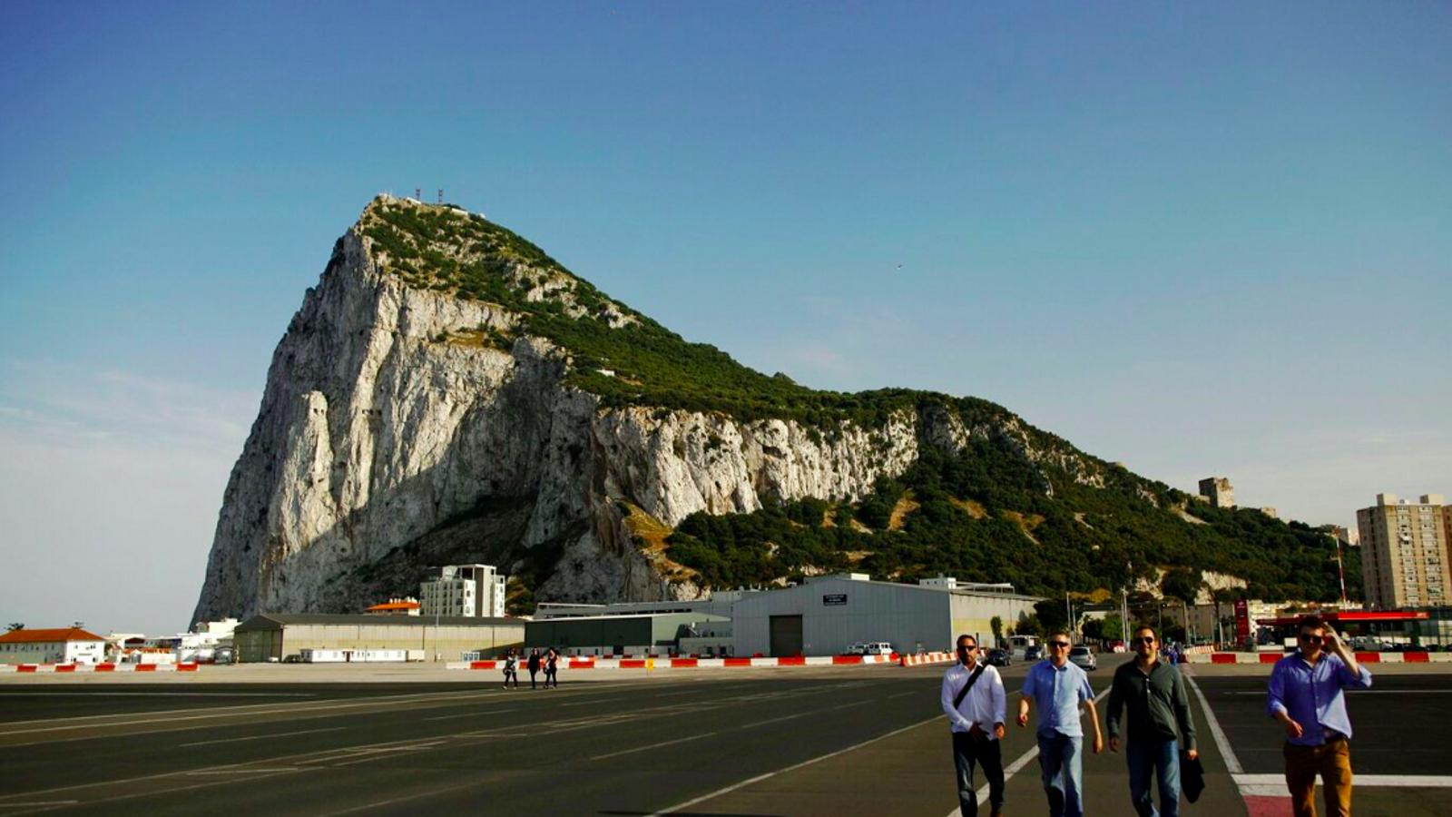 Una imatge d'arxiu del penyal de Gibraltar, enclau britànic a la penísula Ibèrica