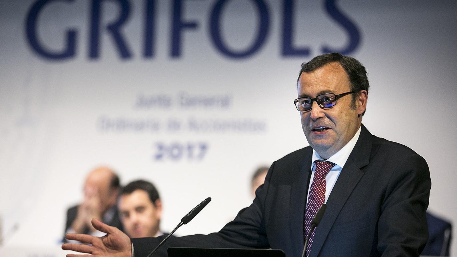 Raimon Grífols, coconsller delegat de Grifols des de l'any passat.