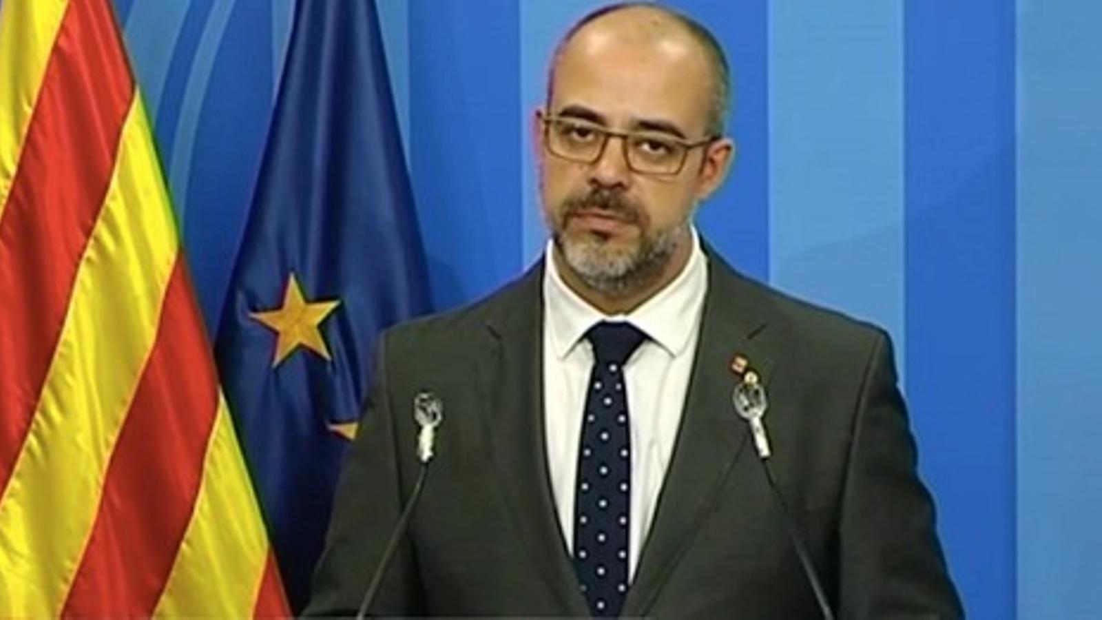 La Generalitat demana permetre manifestacions estàtiques