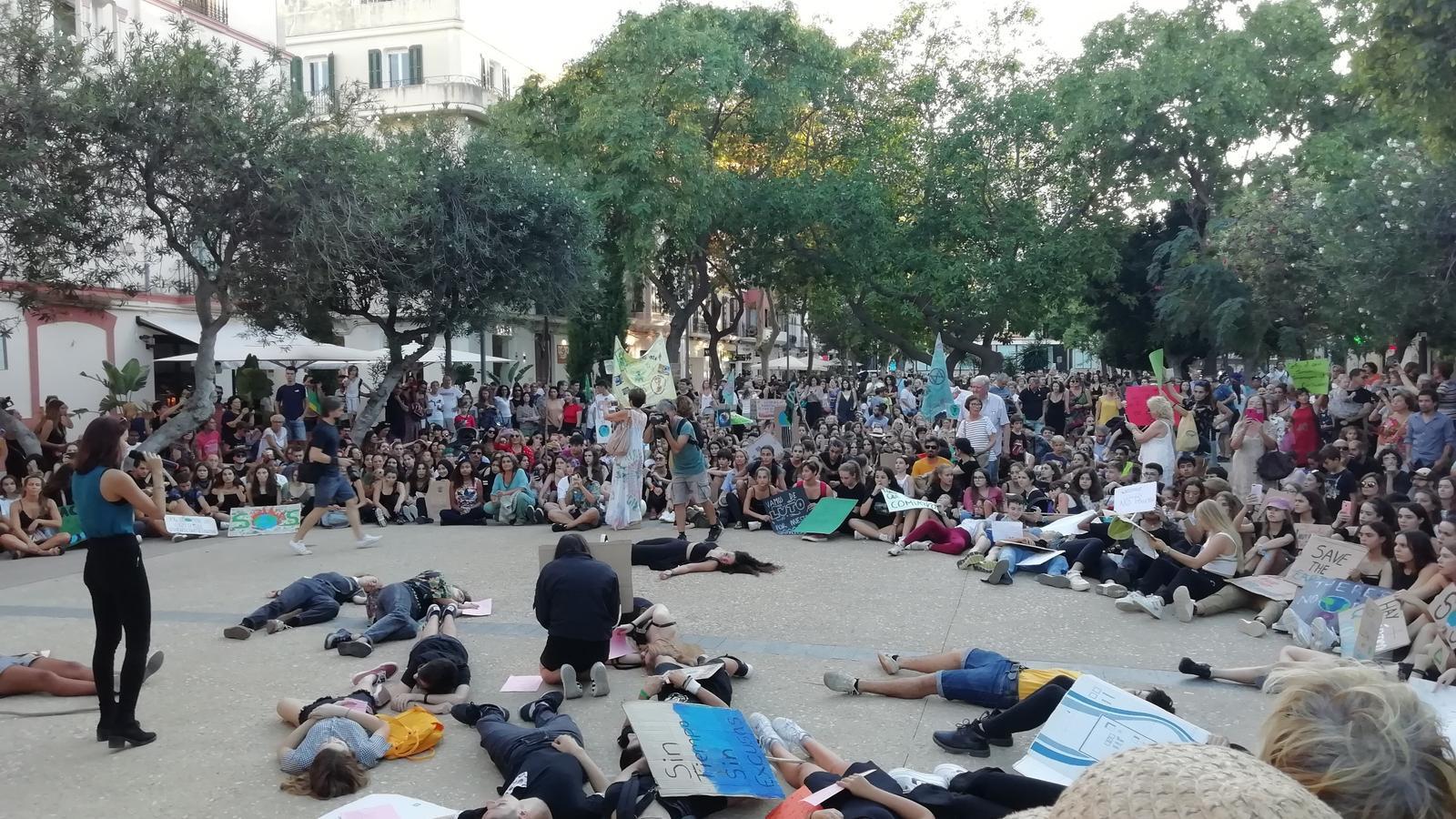 Manifestació a Eivissa