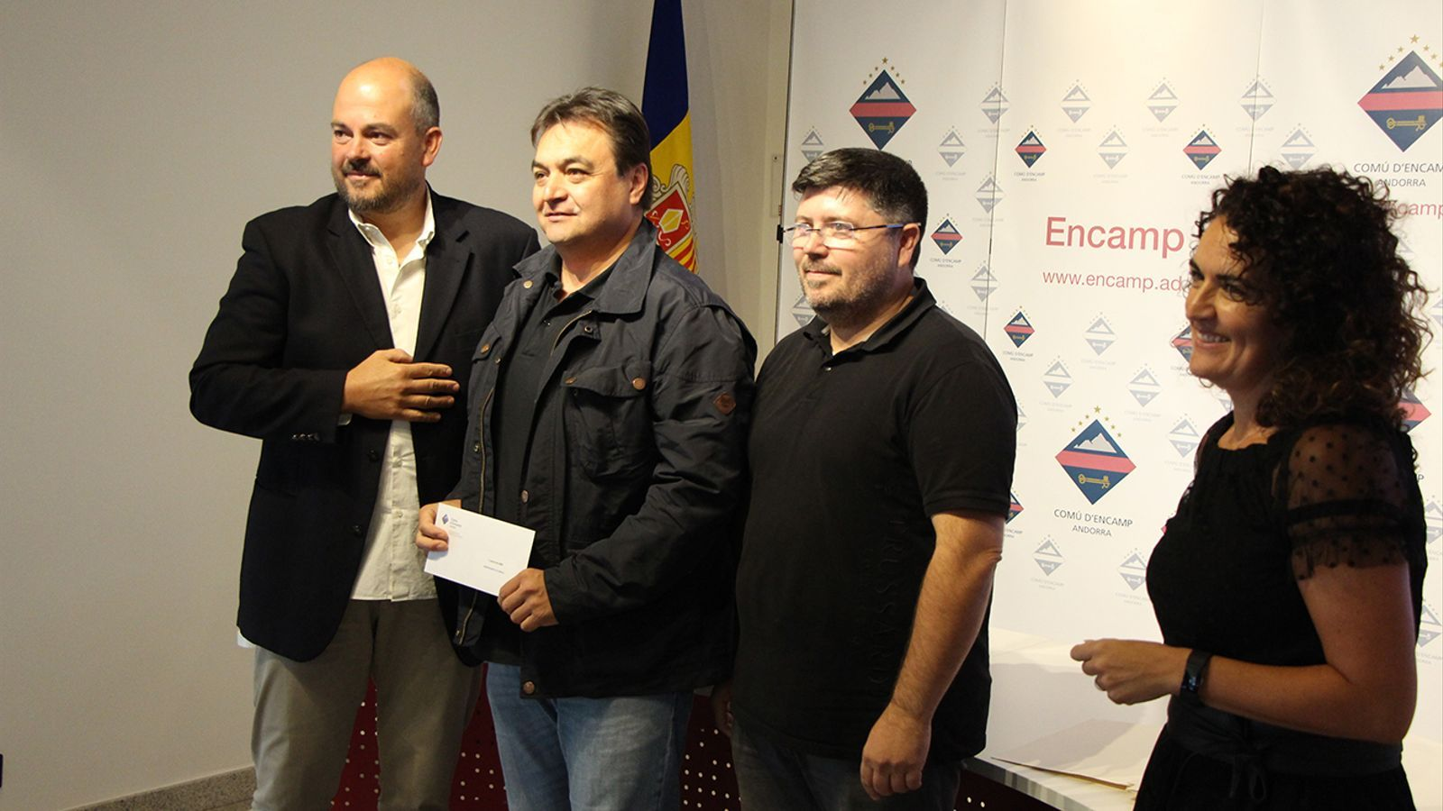 L'entrega dels premis als participants. / M. M. (ANA)