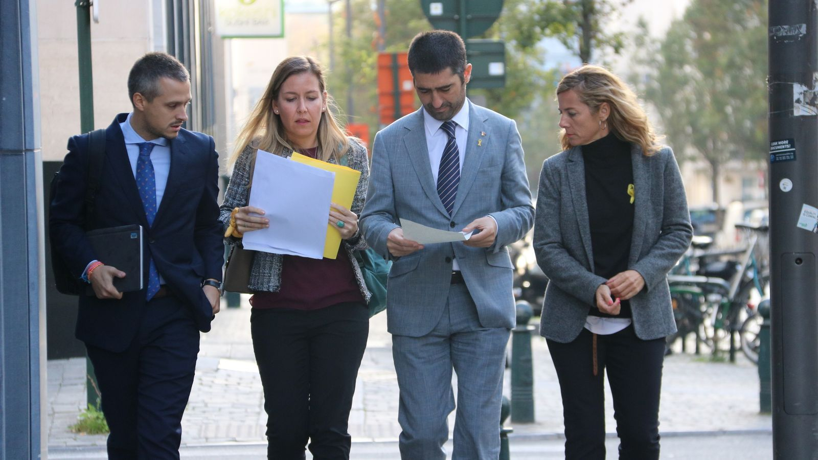 In Brussels: Minister Puigneró denounces