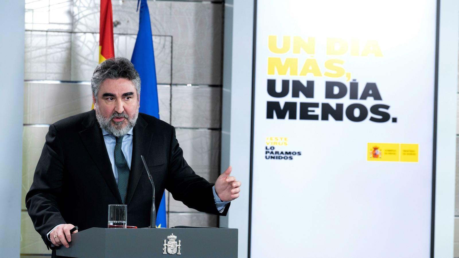 El ministre de Cultura i Esports, José Manuel Rodríguez Uribes.