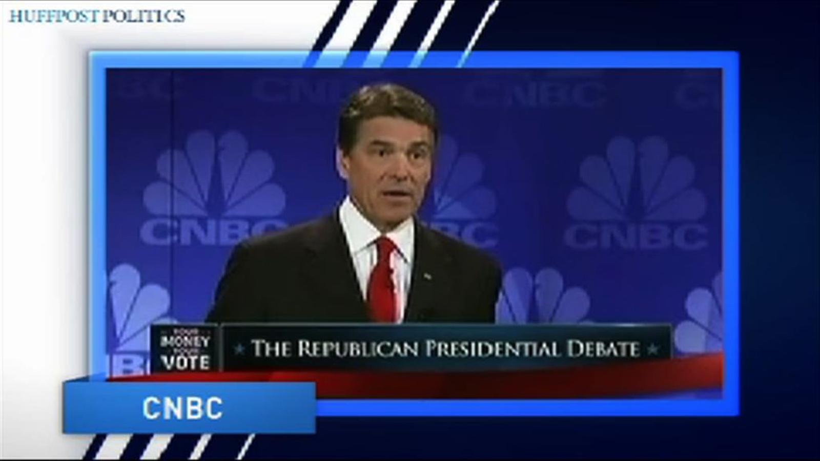 El vídeo que enfonsa la carrera del republicà Rick Perry com a aspirant a la Casa Blanca