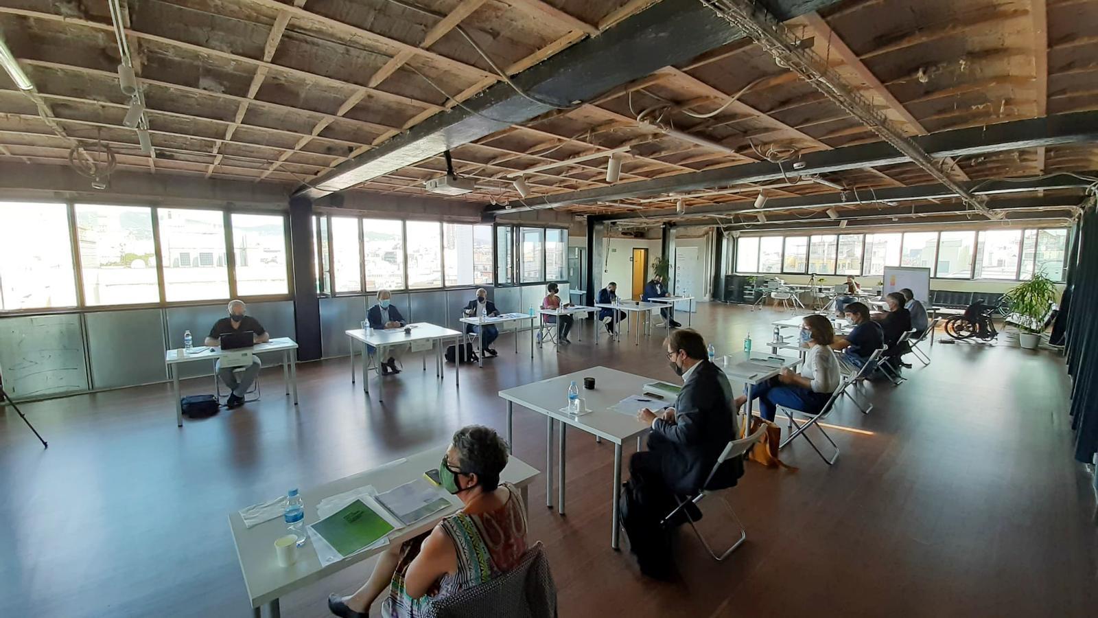 Reunió del Consell Estratègic del Pacte Nacional per a la Renovació Urbana.
