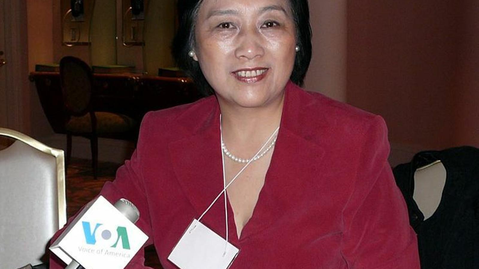 La periodista xinesa Gao Yu