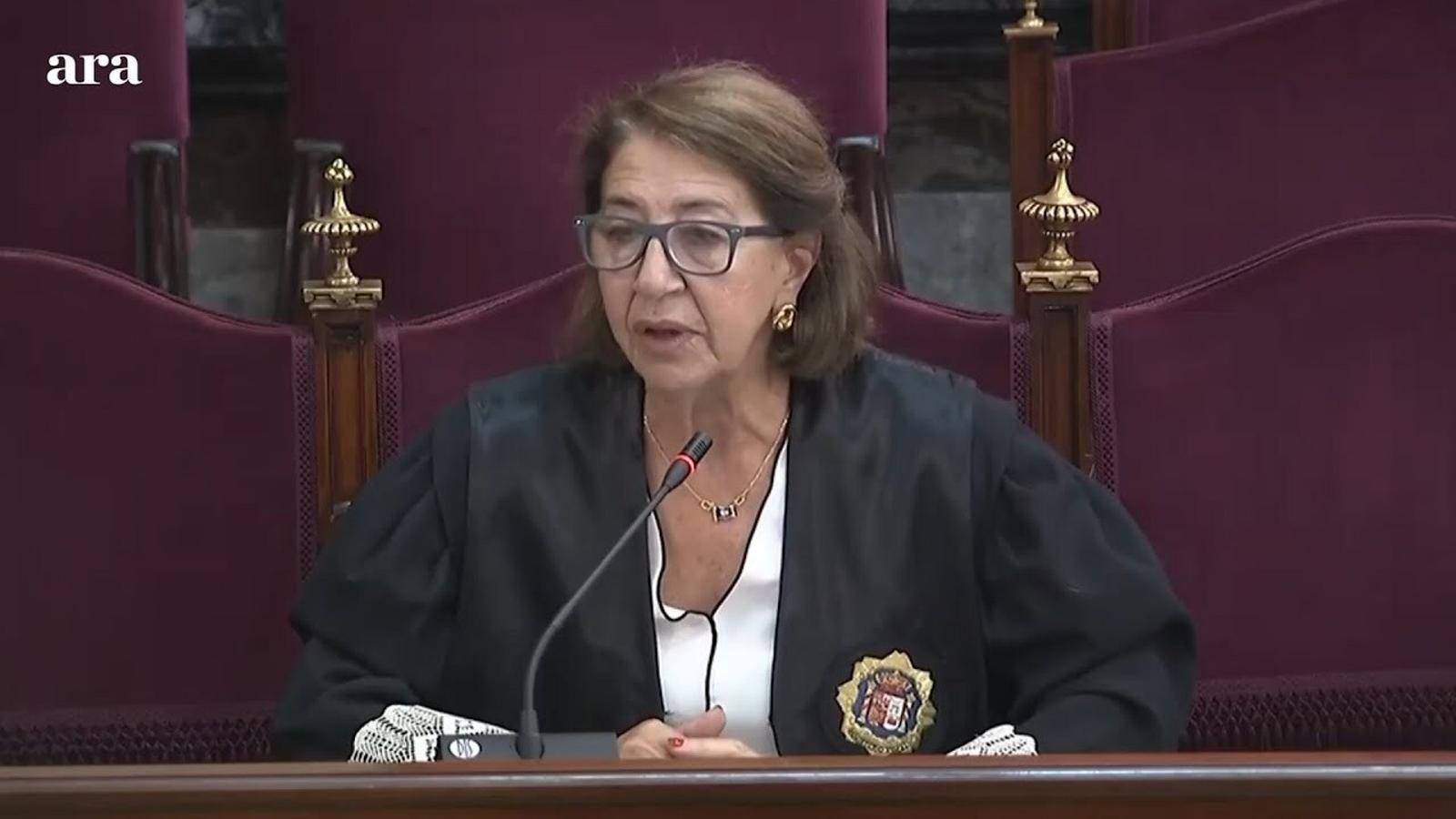 La fiscal nega que Torra estigués emparat per la llibertat d'expressió