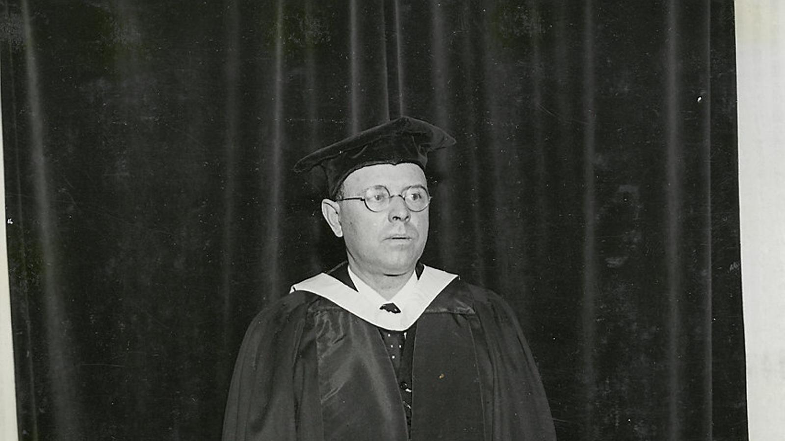 Pau Casals, honoris causa de la Universitat d'Edimburg (1934)
