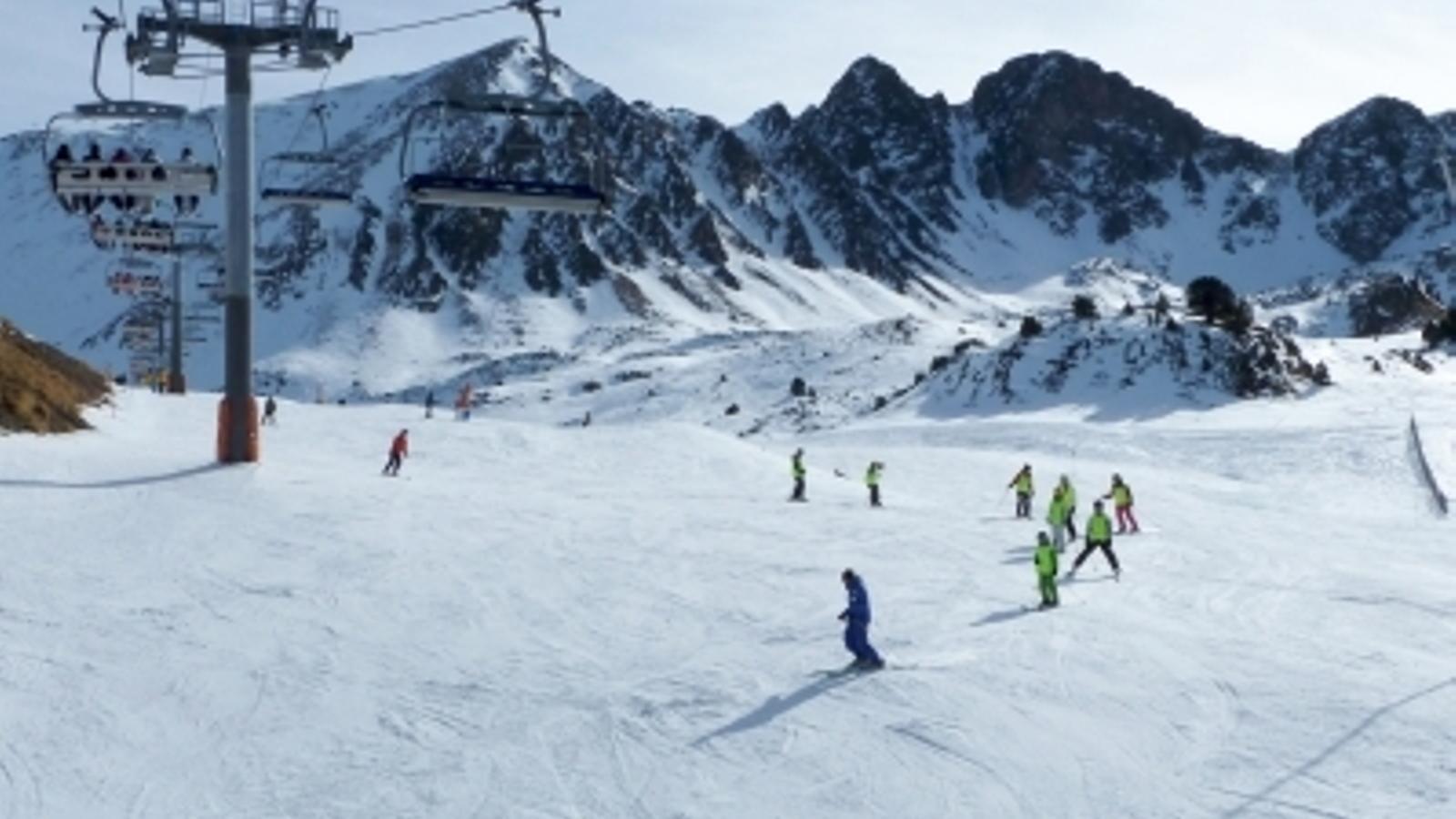 Saetde notifica a Ski Andorra que no vol continuar participant en l'esquí escolar