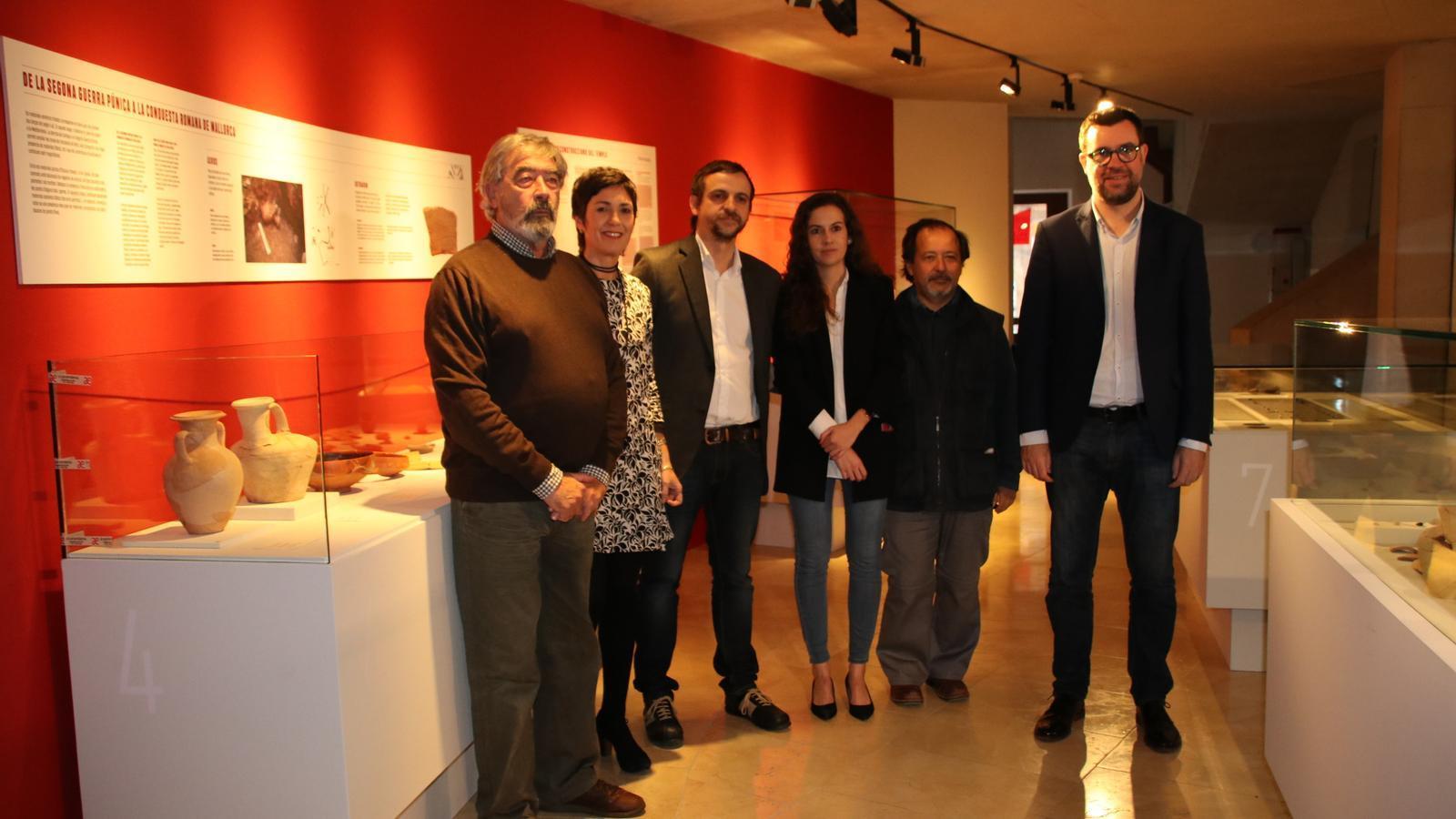 Can Balaguer exhibeix la història de Palma a través del jaciment de Sa Galera