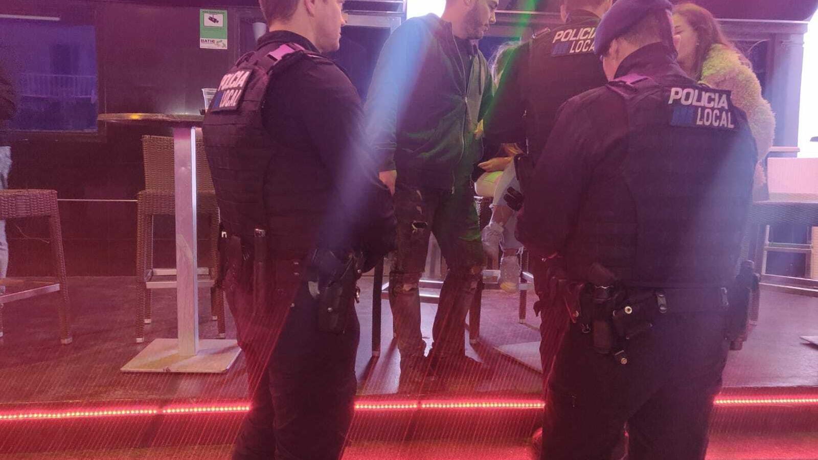 La Policia Local de Calvià va ser l'encarregada de dur a terme la investigació