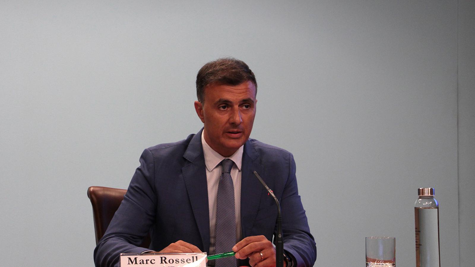 El secretari d'Estat d'Agricutlura i Sostenibilitat, Marc Rossell