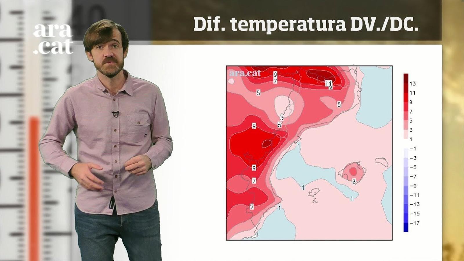La méteo en 1 minut: cap de setmana variable a l'espera d'una pujada de la temperatura