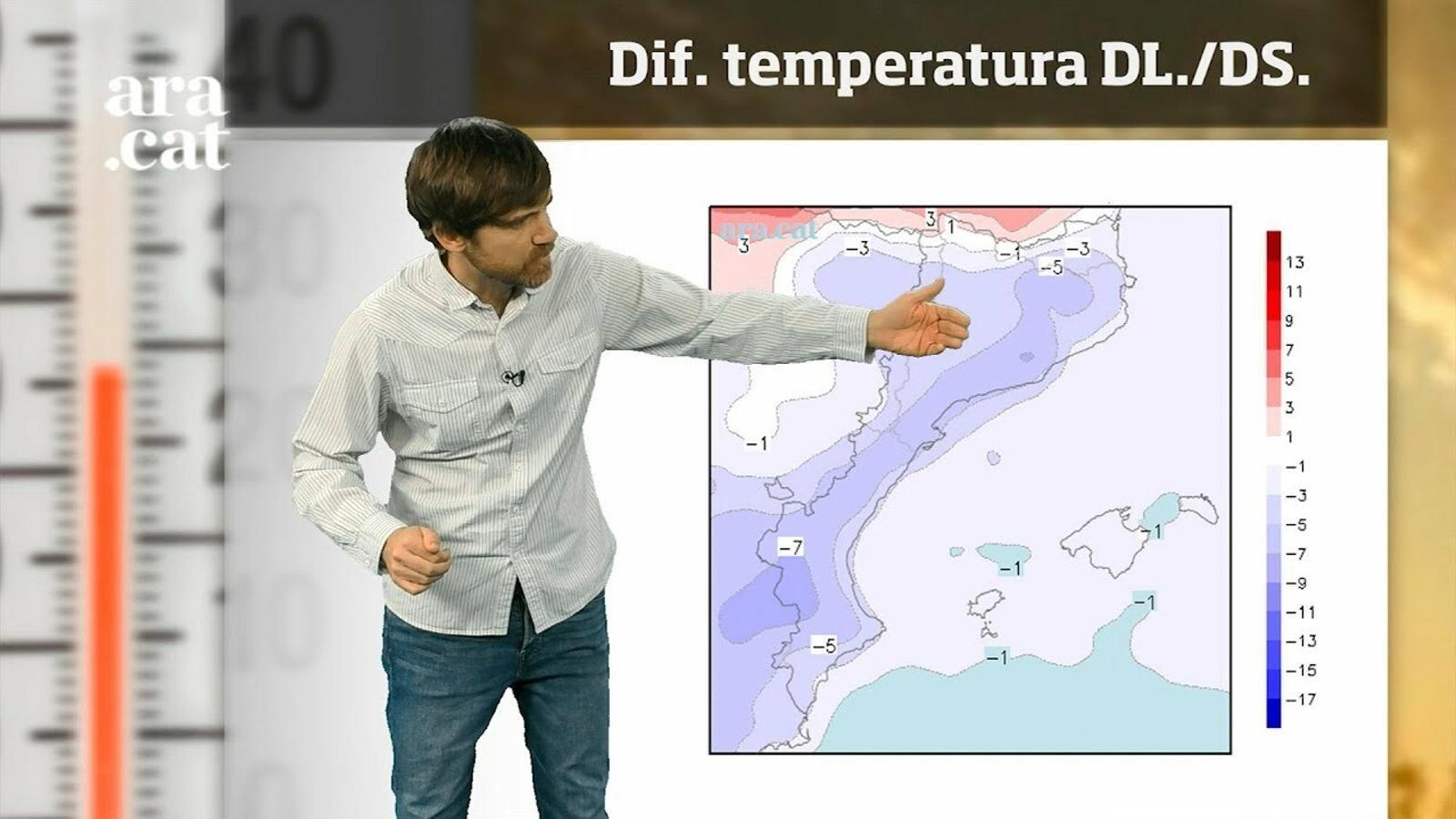 La méteo en 1 minut: setmana més freda del que podria semblar per l'inici