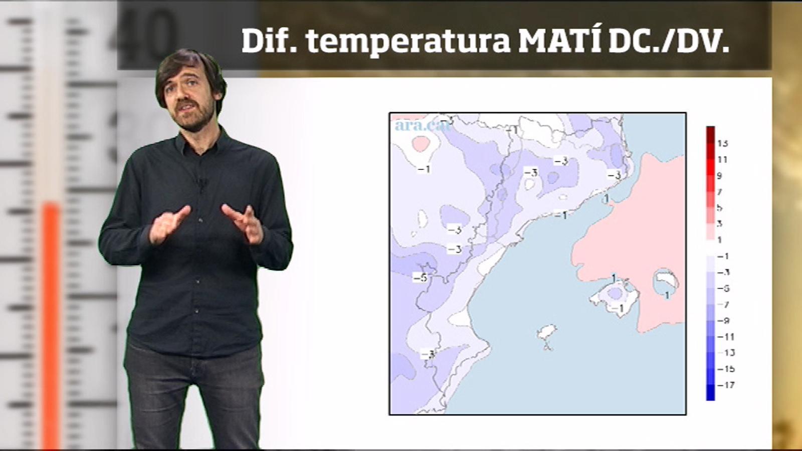 La méteo en 1 minut: nits fredes per ser abril
