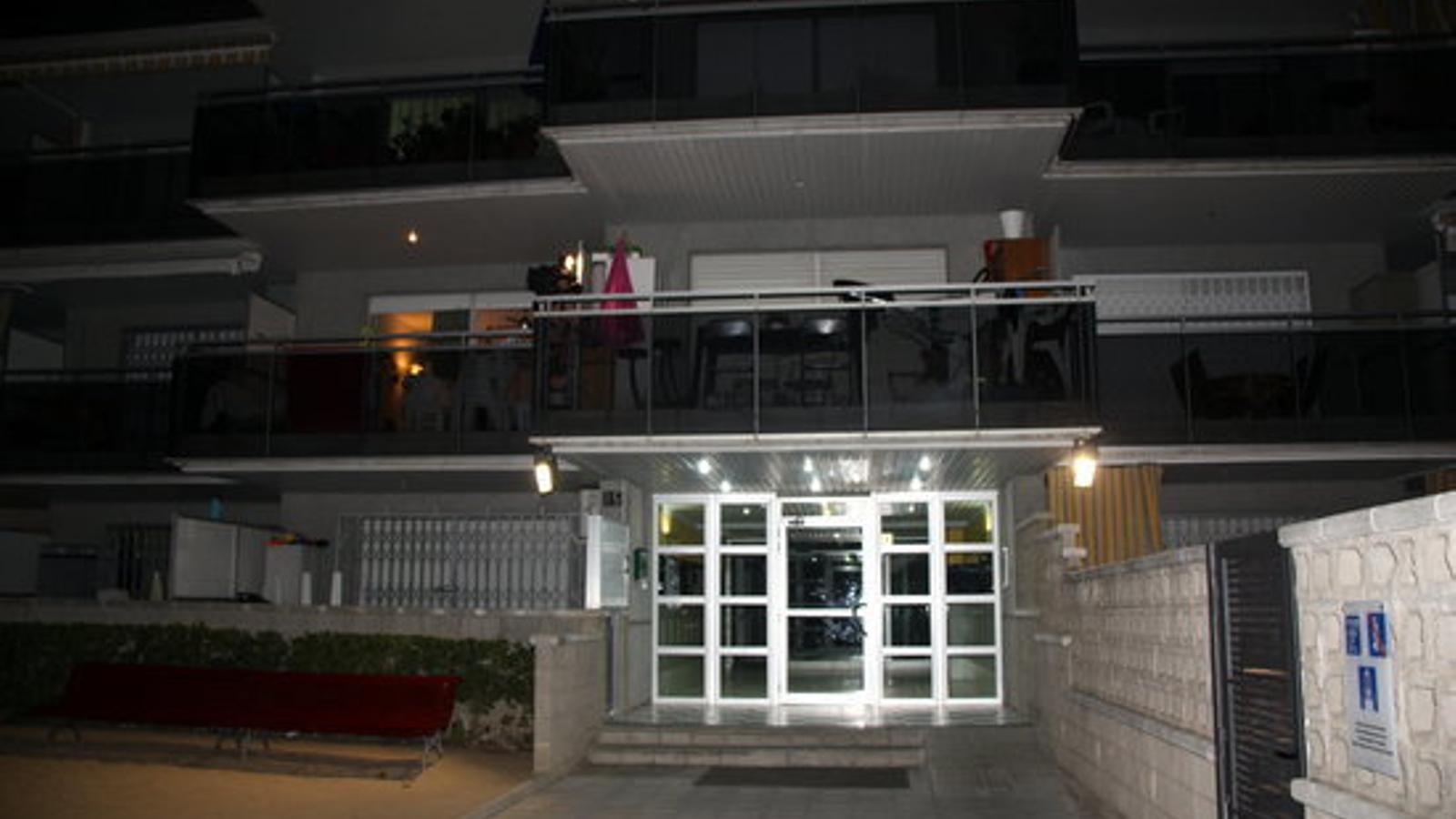 El bloc d'apartaments on han trobat la dona morta