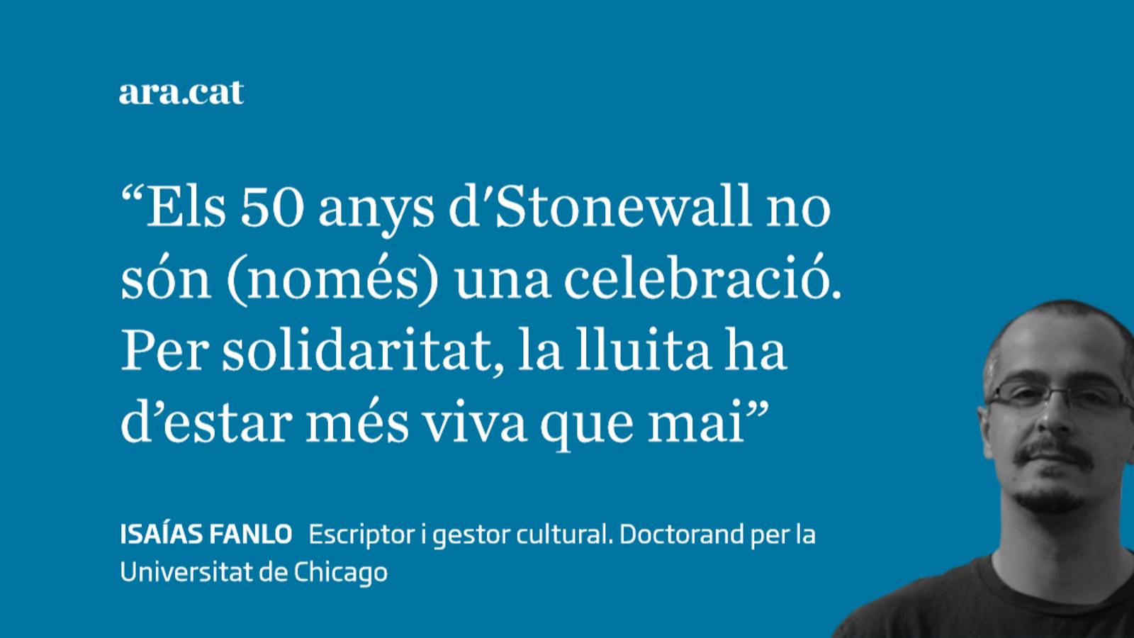 Stonewall: 50 anys de revolució LGTBI