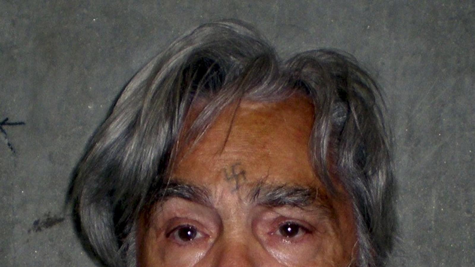 Una imatge de Charles Manson el 2012