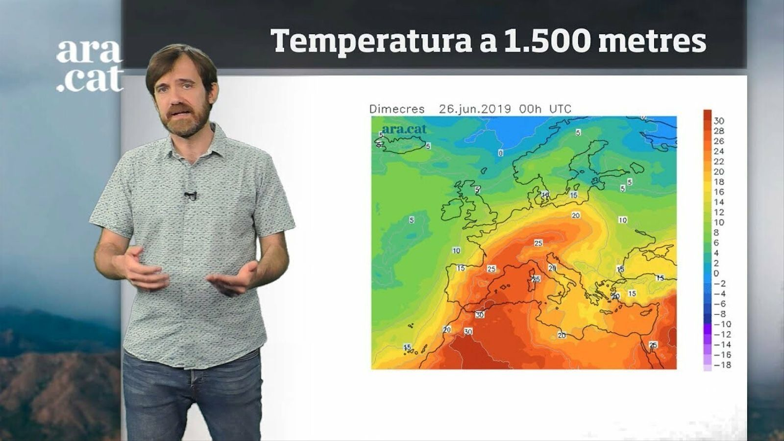 Méteo especial: primera calorada forta a la vista