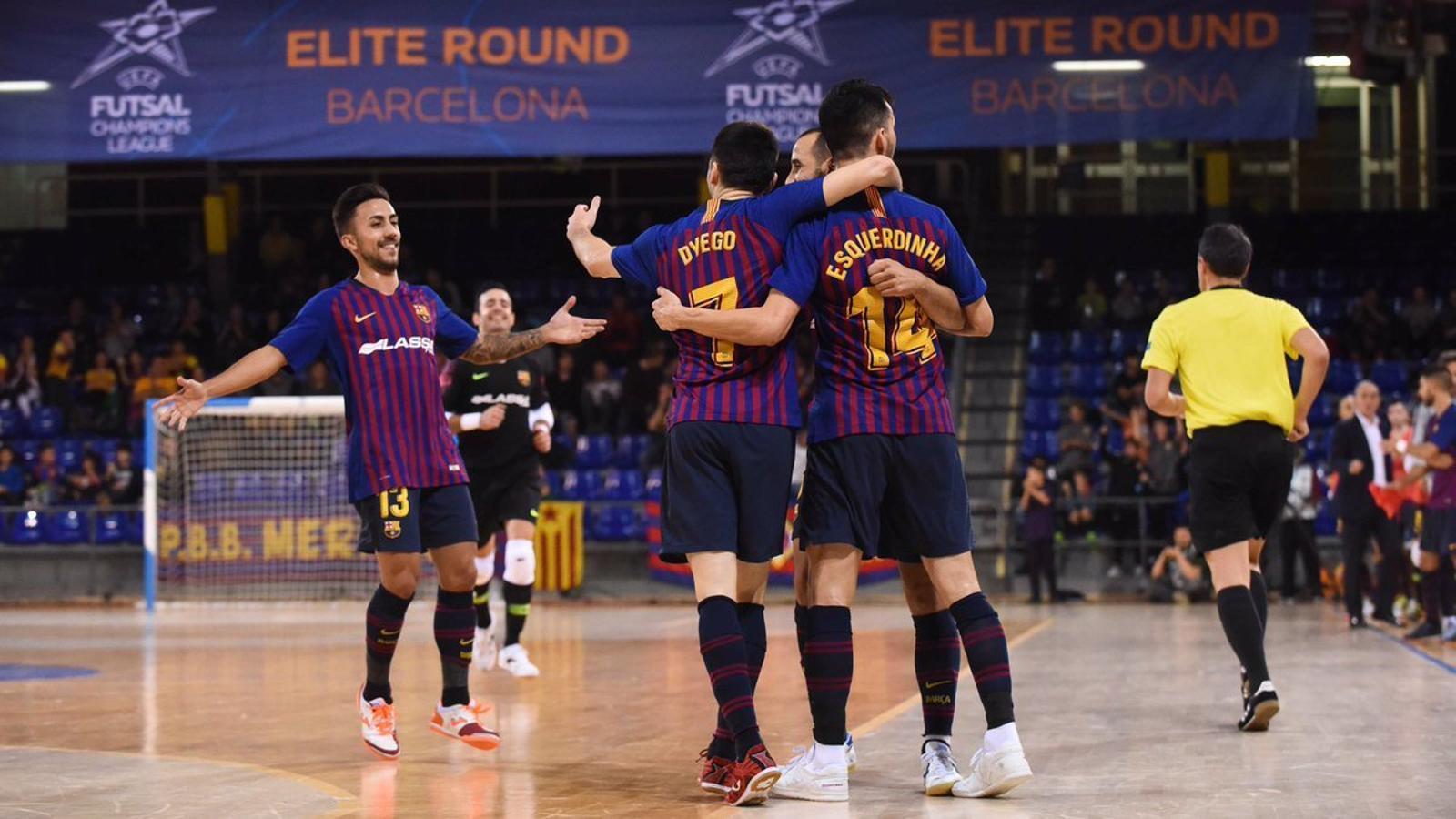 Celebració del Barça Lassa